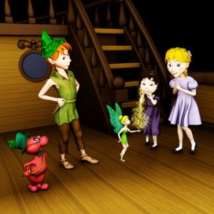 Hudefix und Peter Pan